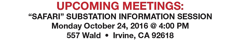 Public Information Session to be held 10/24/16 @ 4:00 PM