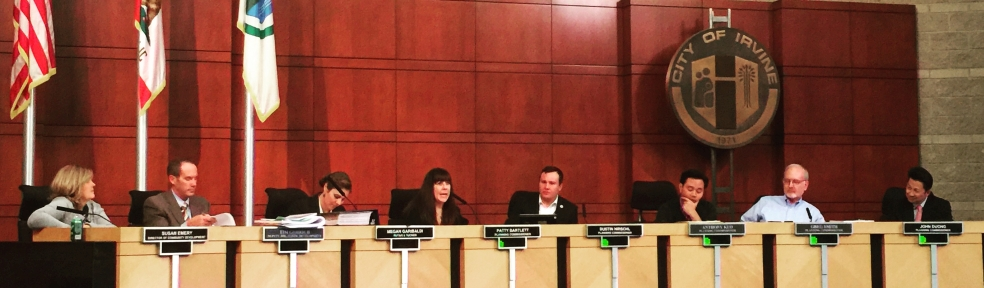 Irvine Planning Commission Meeting 12/15/16